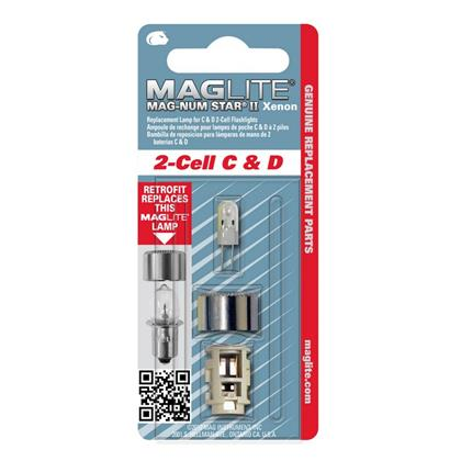 Maglite Mag-Num Star Xenon Replacement Bulb 2-Cell