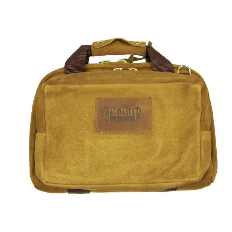 bagmaster leather mini range bag deluxe gun bag lmrbd