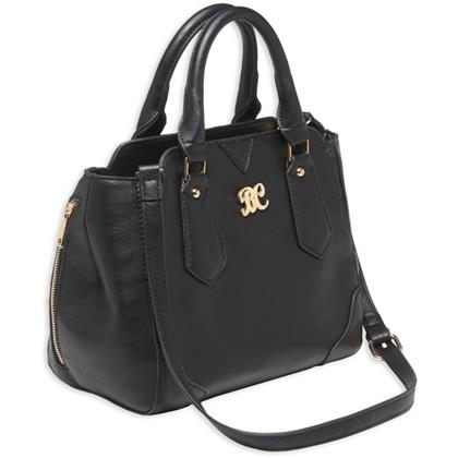 Bulldog Satchel Style Concealed Carry Purse - Black - BDP-020