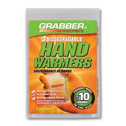 Grabber Biodegradable Hand Warmers 10+ Hours - 3 Pairs